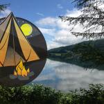 釣りができるキャンプ場-木崎湖