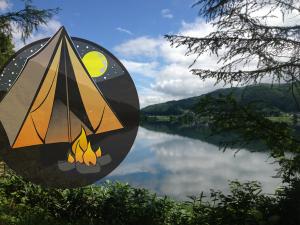 バス釣りができるキャンプ場